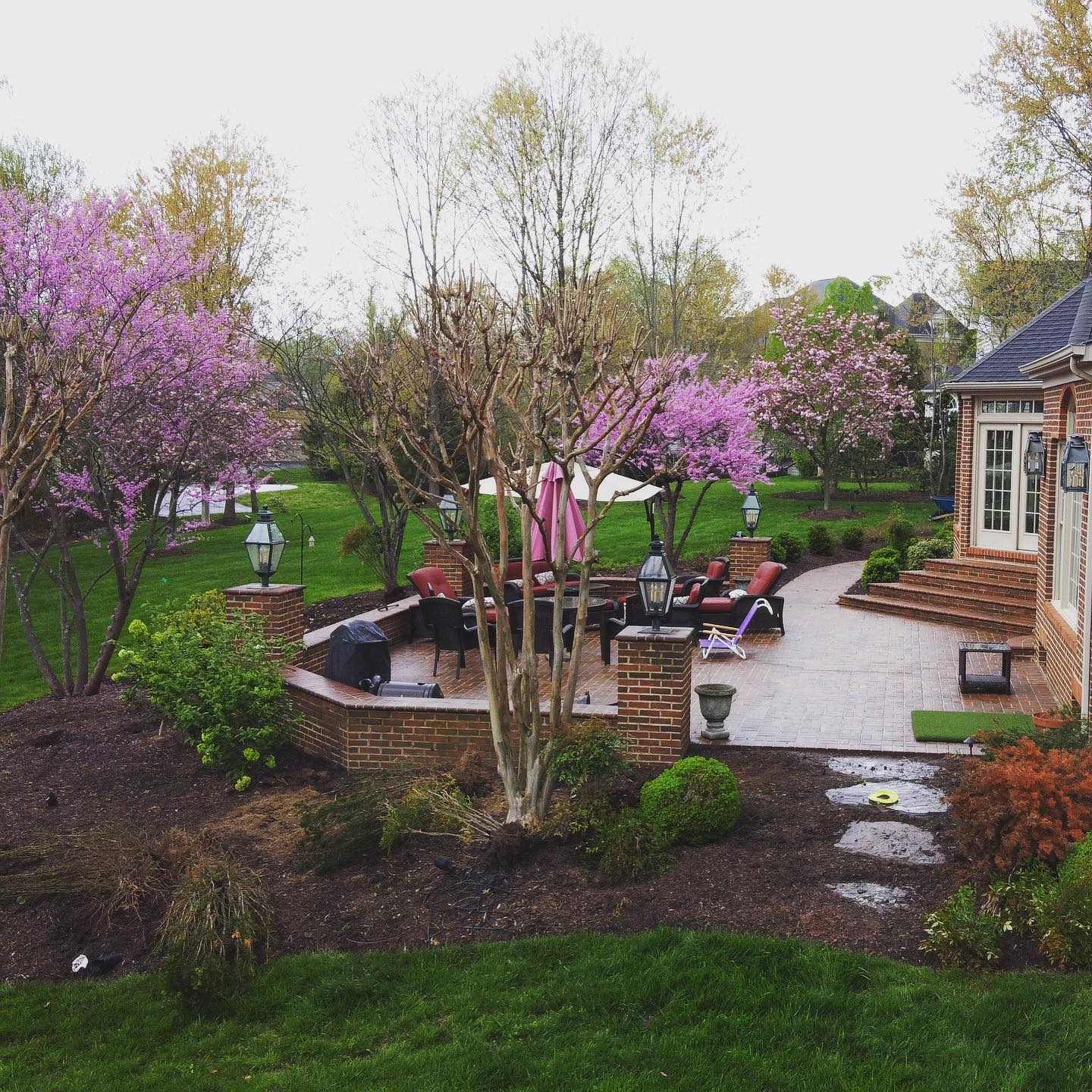 Pine Ridge Residential Landscaping Project