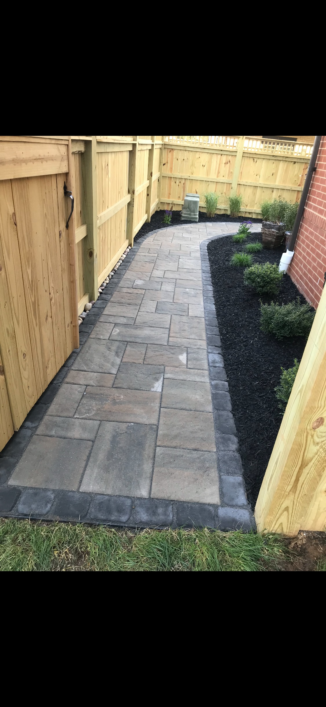 Pine Ridge Residential Hardscaping Project
