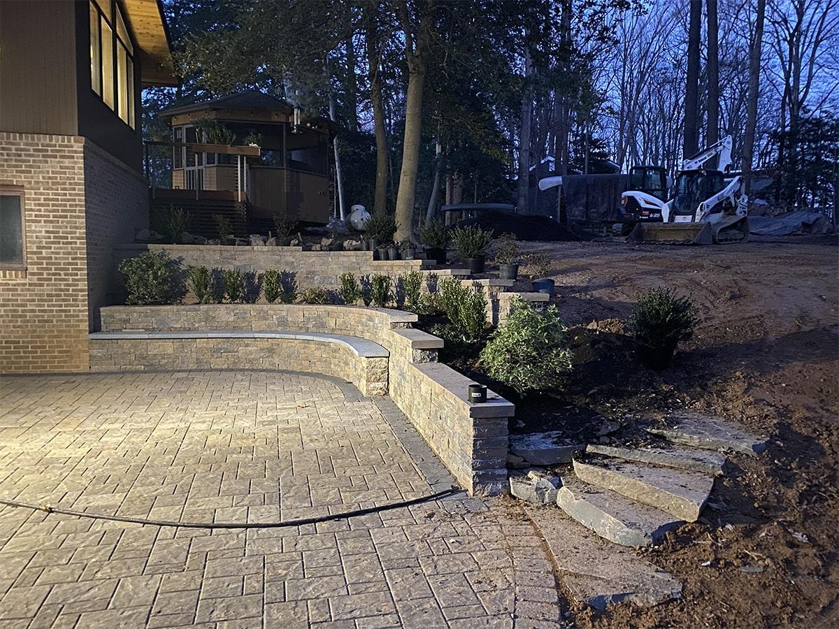 Pine Ridge Hardscape Image Project